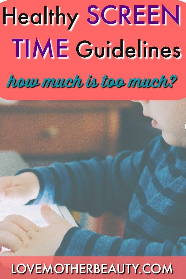 Limiting screen time for your kids.  Articles that point you towards the healthy recommended daily use for screen time for your kids.