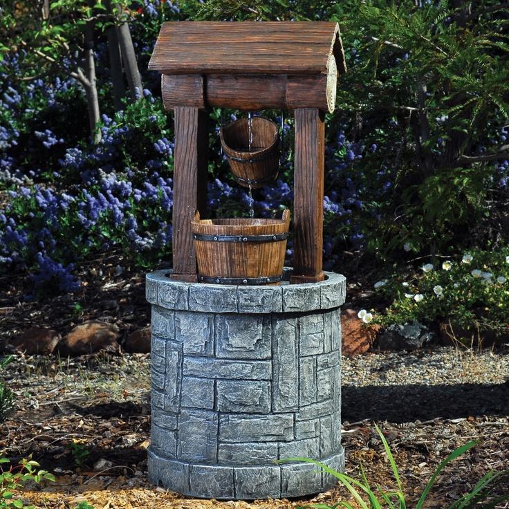 1000 images about wishing wells on pinterest gardens. Black Bedroom Furniture Sets. Home Design Ideas