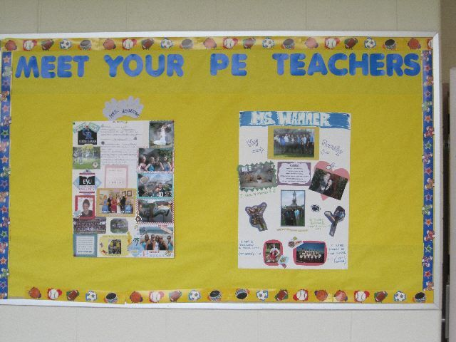 Classroom Pe Ideas ~ Best images about pe bulletin boards and things for