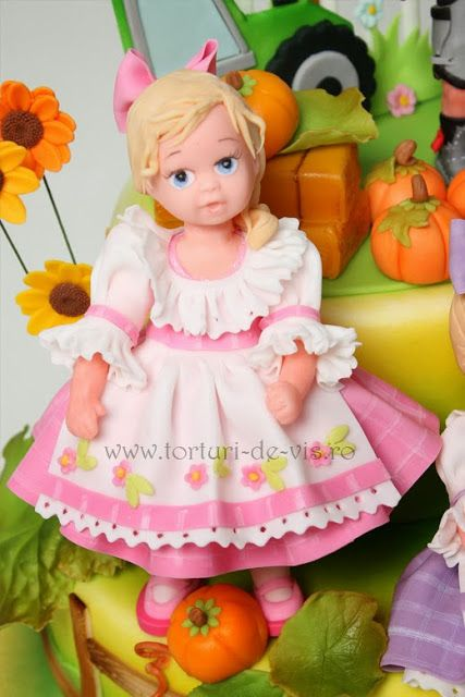 *SORRY, no information as to product used ~ Cakes - Viorica's Cakes: Anniversary triplets farm