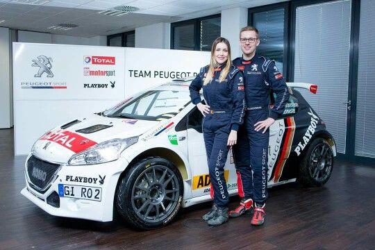 PEUGEOT Deutschland kehrt 2016 in die Deutsche Rallye-Meisterschaft zurück! Am 04. und 05. März wird das Nachwuchsduo Christian Riedemann und Lara Vanneste bei der Saarland-Pfalz-Rallye im PEUGEOT 208 T16 vom Team ROMO starten.
