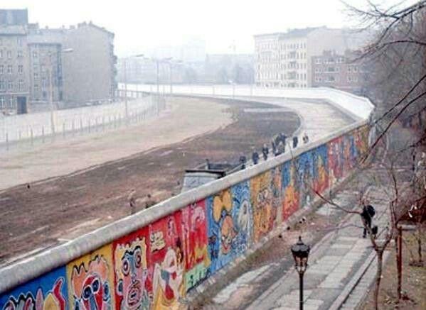 Вид из Западного Берлина, 1986