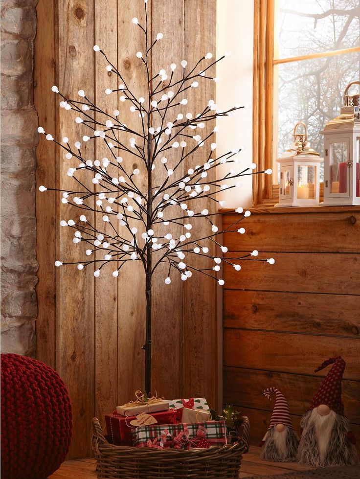 6ft Pre Lit 'Twig' Christmas Tree, http://www.very.co.uk/6ft-pre-lit-twig-christmas-tree/1298704152.prd #VeryChristmasCrib