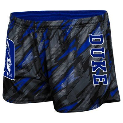 Duke Blue Devils Ladies Vision Shorts - Duke Blue