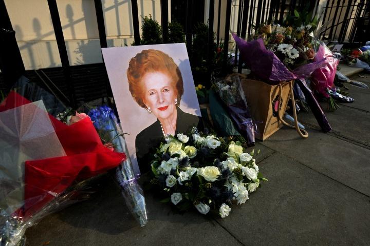 Even in Death, Margaret Thatcher Divides Britain as Hundreds Celebrate