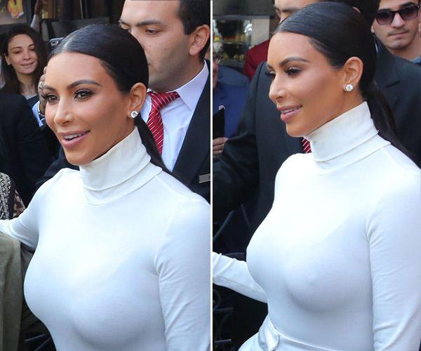 Kim Kardashian's Sleek Ponytail In Armenia — Hair How To