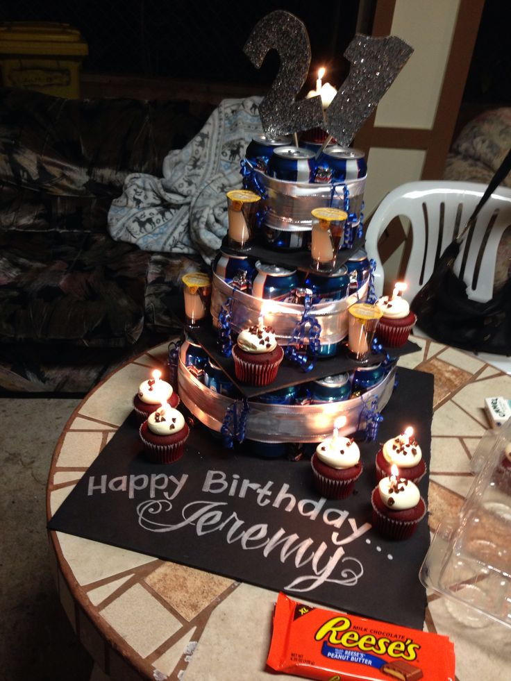 Beer Can Cake Th Diy