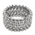 Vibrant Bracelet  Genuine Crystals