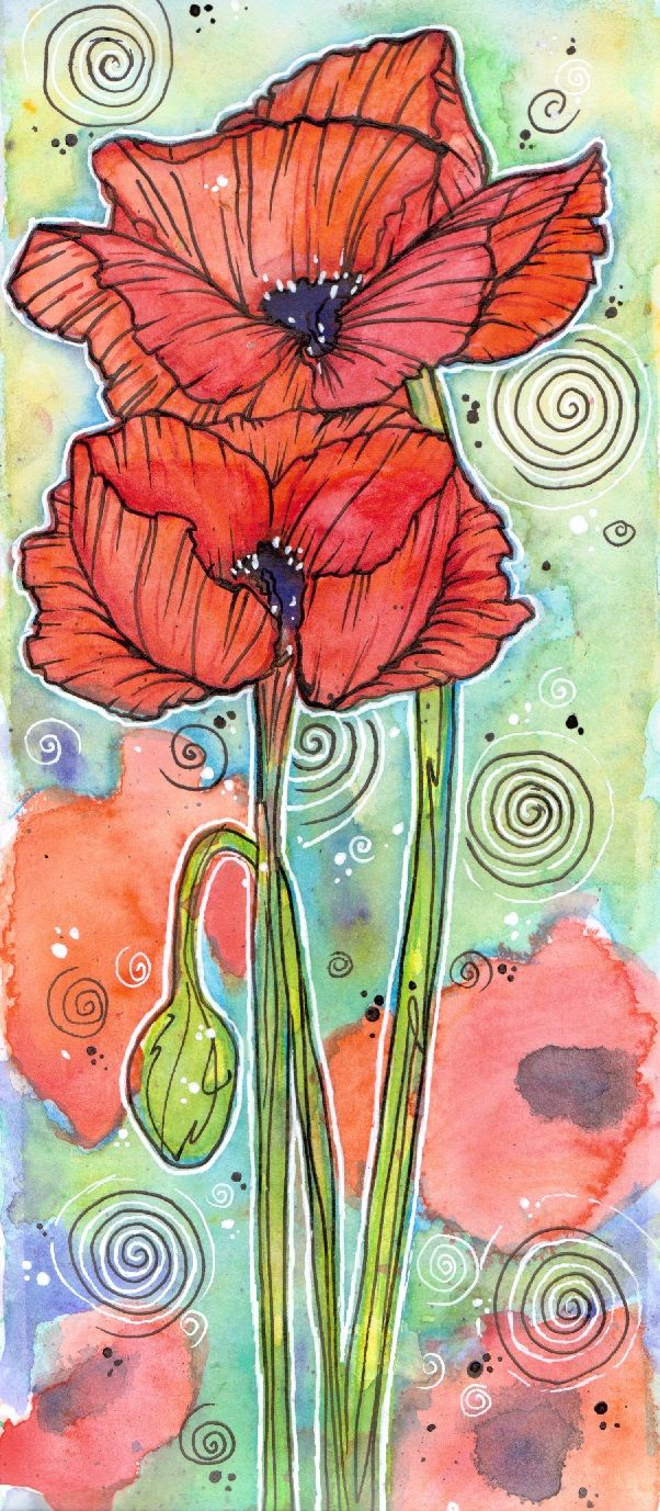 """Armistice Day Poppies.  """"They shall grow not old, as we that are left grow old. Age shall not weary them, nor the years condemn. At the going down of the sun and in the morning We will remember them""""."""