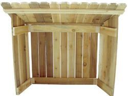 Cedar Nativity Stable Outdoor Nativity Sets Pinterest
