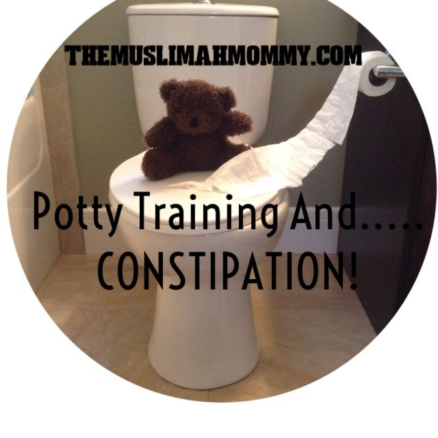 Tips for parents: Potty training and....constipation?