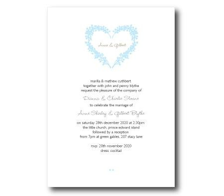 """Lily"" invitations from make your day wedding styling"