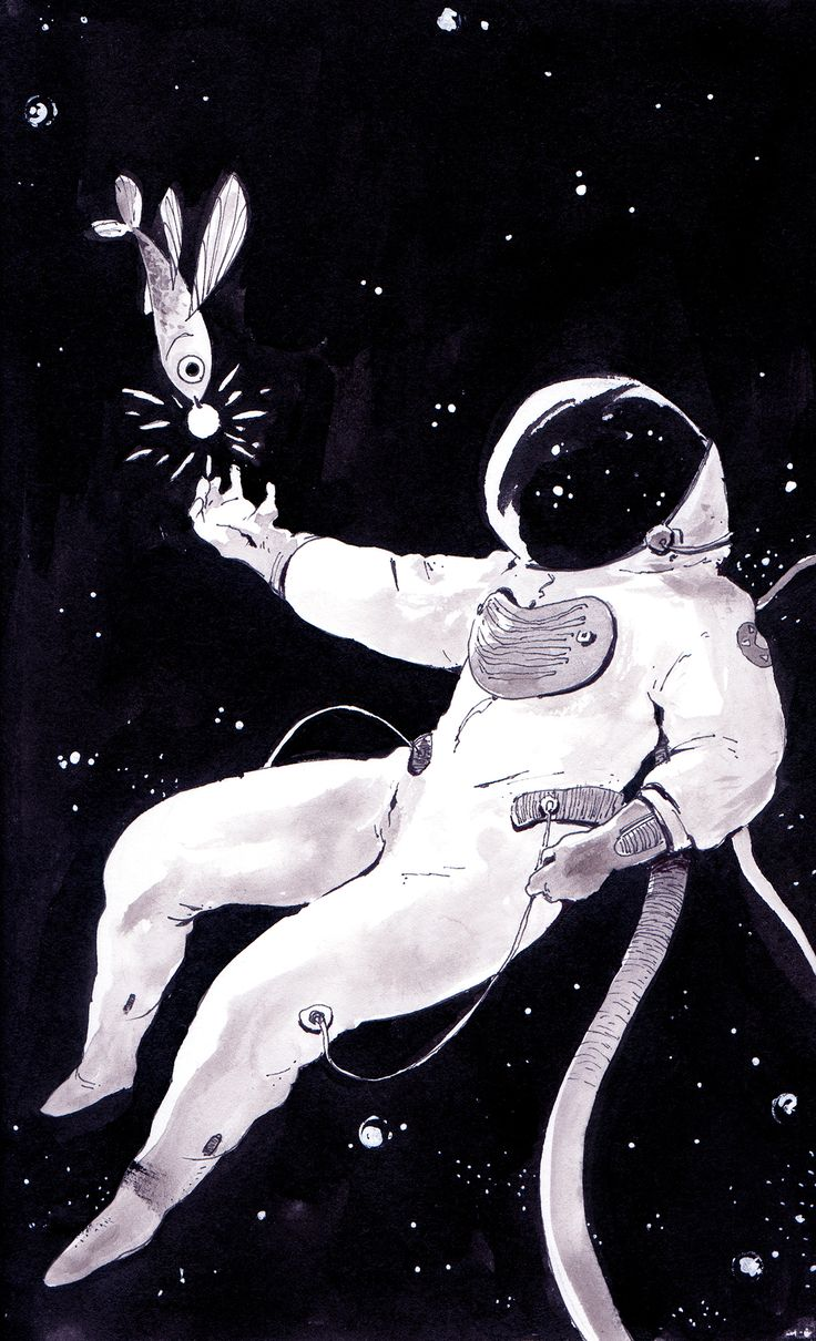 Astronauts on Behance