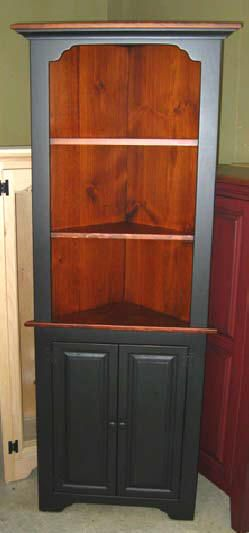 1000 ideas about corner china cabinets on pinterest for Amish kitchen cabinets pa