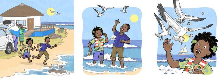 #chantelleandburgenthorne #ourillustrations #childrensbook #illustration #published #education