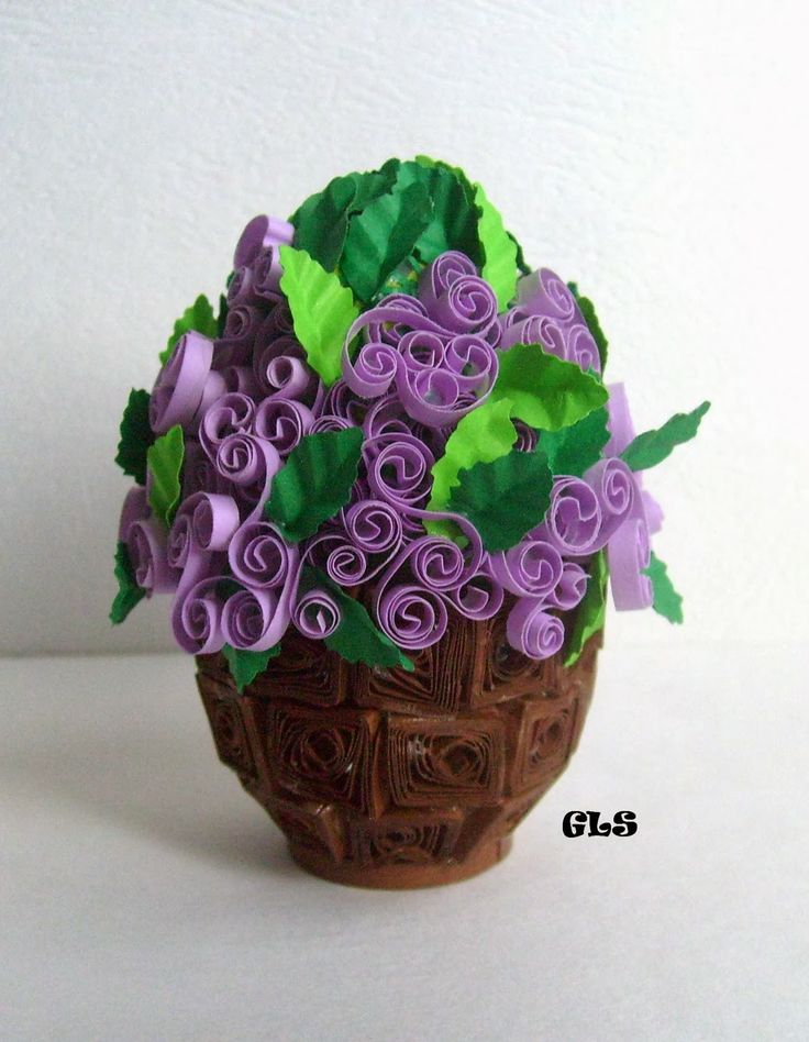 16 best photos of paper quilling patterns flowers bouquet