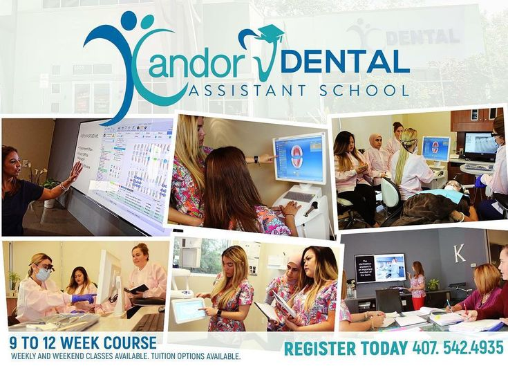 Only 3 days until our next class begins this Saturday March 10th!! Make Your future bright with a Dental Certification from Kandor Dental Assistant School! Tuition options available. REGISTER TODAY 407-542-4935 5515 Vista View Way Orlando Florida 32765 #kandordental #dentaloffice #dentalassistant #oviedo #orlando