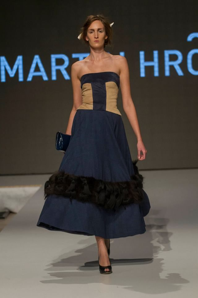 Collection of Martin Hrča presented during Fashion LIVE! 2014