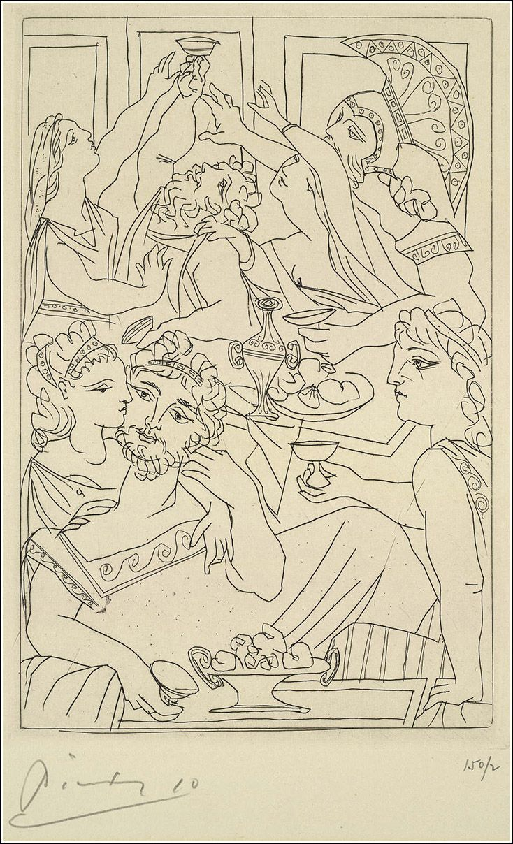 Lysistrata. Illustrated by Pablo Picasso. - Book Graphics
