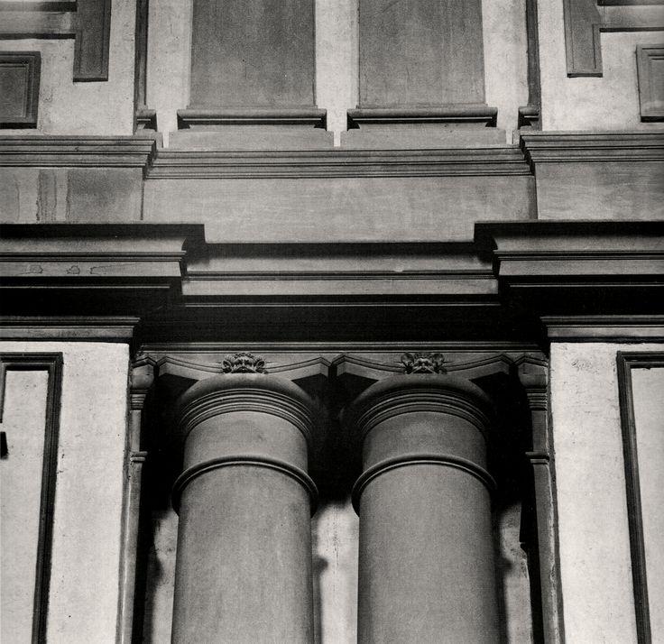 Michelangelo laurentian library blanco y negro - Arquitectura miguel angel ...