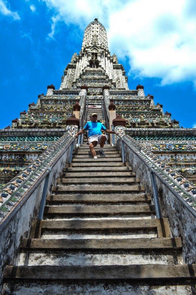Wat Arun, Bangkok, Thailand - One of my favorite stops along the Chao Phraya River