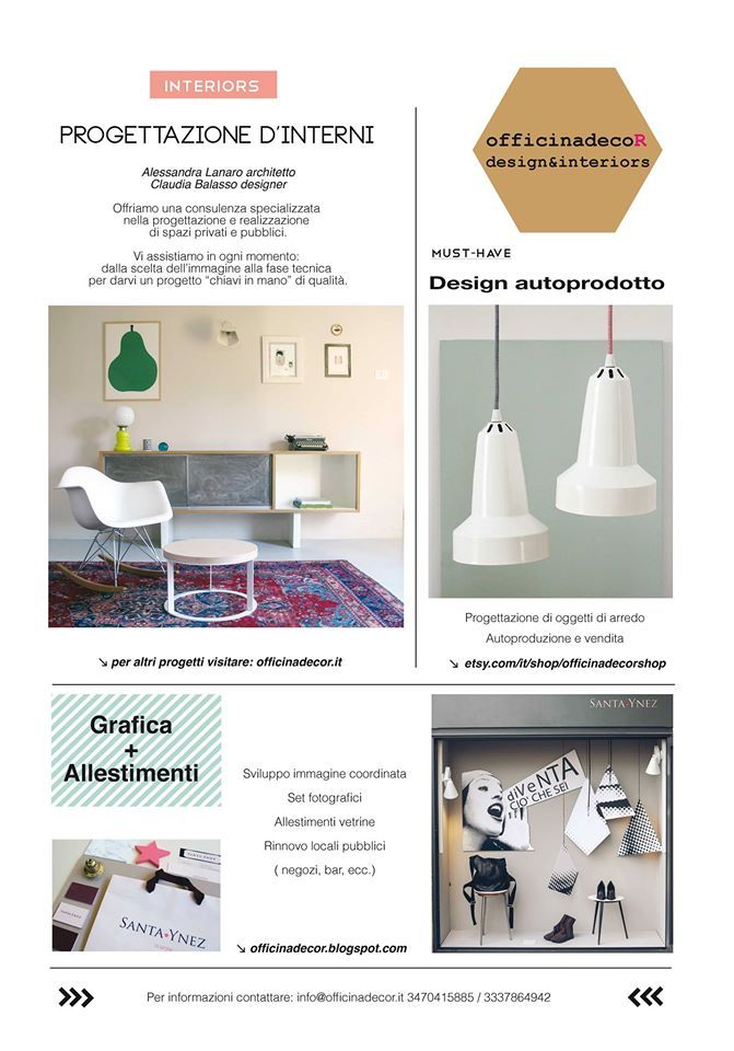 What we do!! officinadecoR