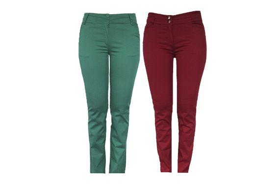 Industrias FOR Pantalones para mujer en drill o spandex en diferentes colores y estilos.  Tallas disponibles de la 8 a la 16.  http://www.littleconnexions.com/item/pantalones-hombre-industra-for-2/