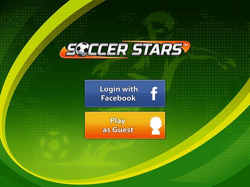 Login UI mobile games(Simplistic Login design, a bit plain logo, with quite strong green background)