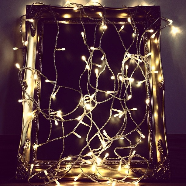 Warm white fairy lights, by Lights4fun #christmaslights #twinklelights