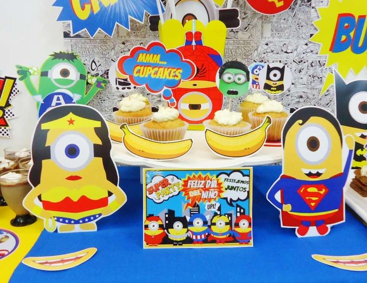 "MINIONS | DESPICABLE ME / DIA DEL NIÑO ""MINIONS AVENGER"" 
