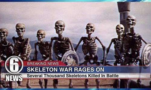 Skeleton War.  Obviously