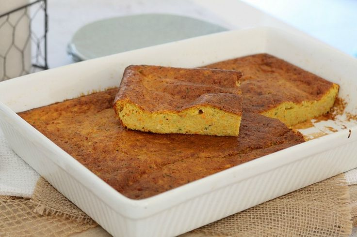 This Healthy Carrot & Zucchini Slice is the perfect lunch or light dinner. Make it ahead of time and freeze for a quick and easy meal on the run! #healthy #vegetables #kids #recipe #conventional #thermomix #easy