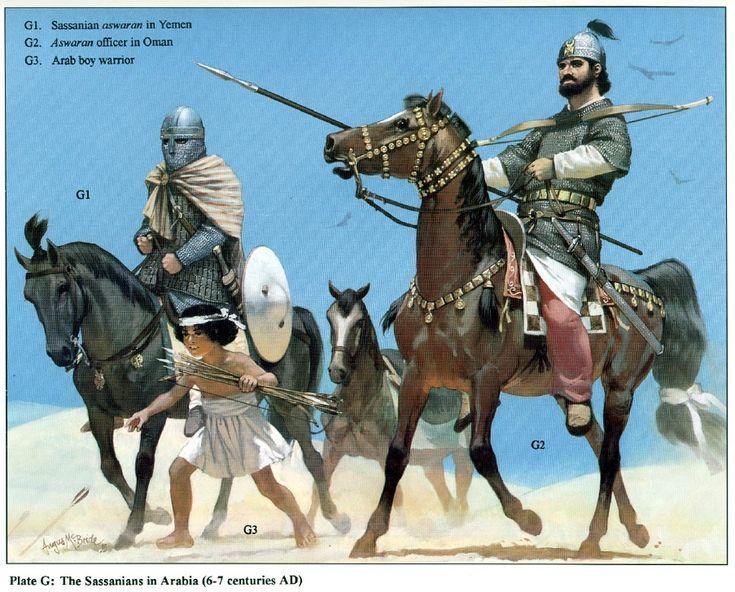 Persian Sassanian Armies, VI.-VII. century AD
