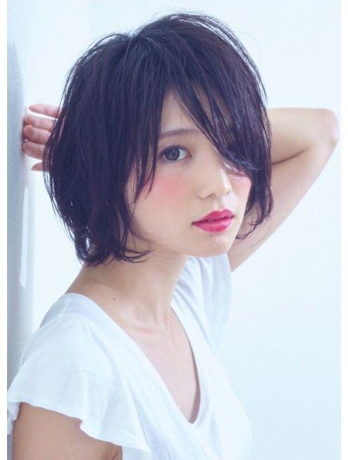 サクラ(SAKURA サクラ ) 【SAKURA表参道】大人かわいい黒髪ショート 担当:塩見友良