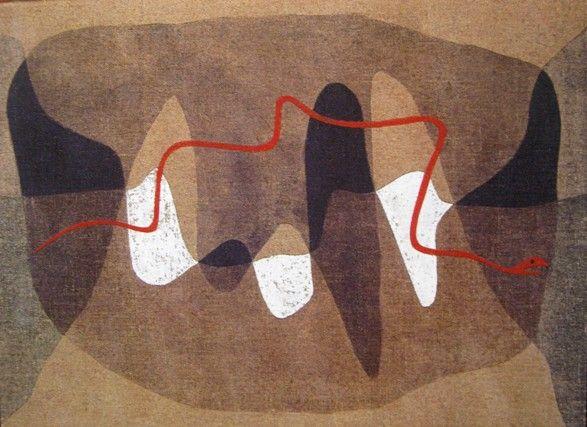 Paul Klee  'Snake Paths'  1934