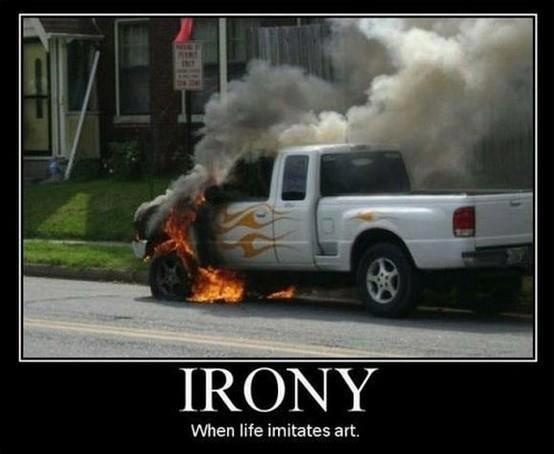 Ironic..: Giggle, Flames, Funny Stuff, Irony, Funnies, Humor, Things