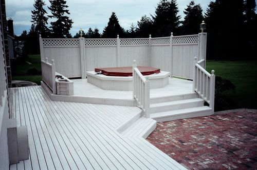 17 Best Images About Hot Tub Privacy Screens On Pinterest