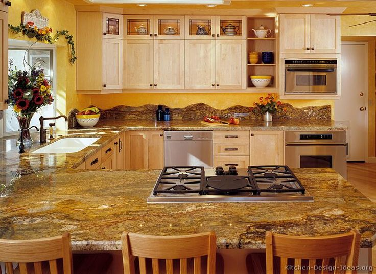 Light Wood Kitchen Cabinet Ideas 1512 best kitchens of the day images on pinterest | kitchen