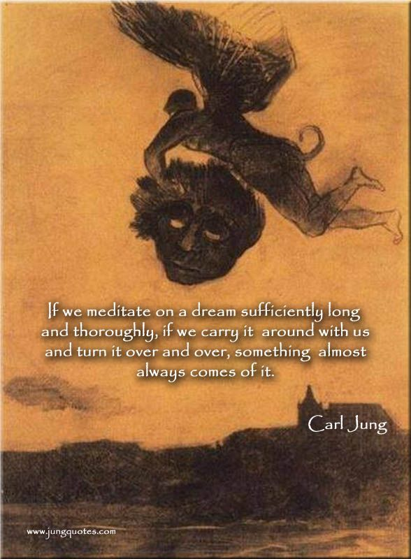 """Carl Jung: """"I have no theory about dreams… """" ~Carl Jung, Quotations"""