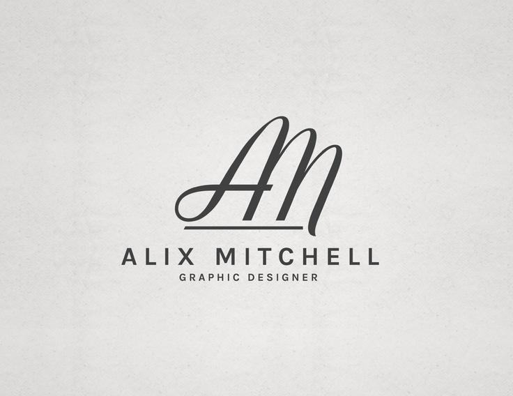 Alix Mitchell Graphic Designer Logo