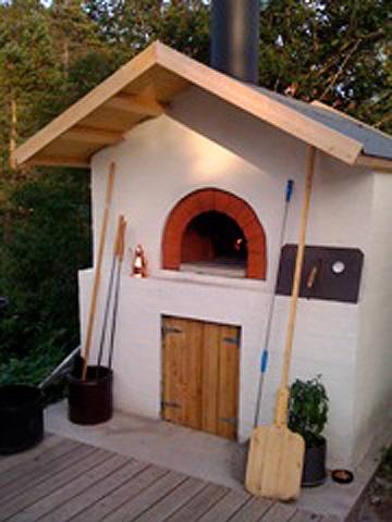 Pizza oven, Scandinavia
