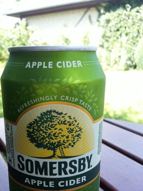 A cider in the sun can't be wrong...