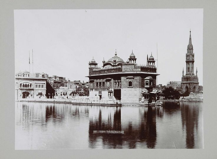 Anonymous | Gouden Tempel in Amritsar, Anonymous, c. 1895 - c. 1915 |