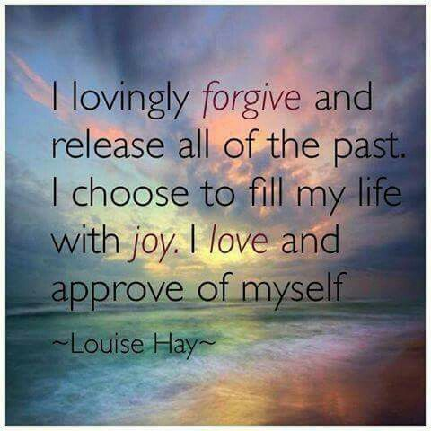 TO FORGIVE RELEASES YOU FROM THE PAST ,ENABLES YOU TO MOVE FORWARD WITH HAPPINESS AND POSITIVE INTENT.