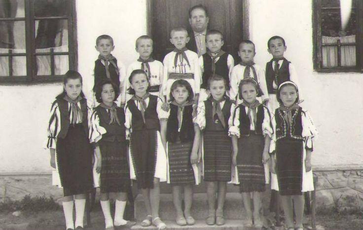 Primary school of Aninis-Crasna-Gorj (1970)