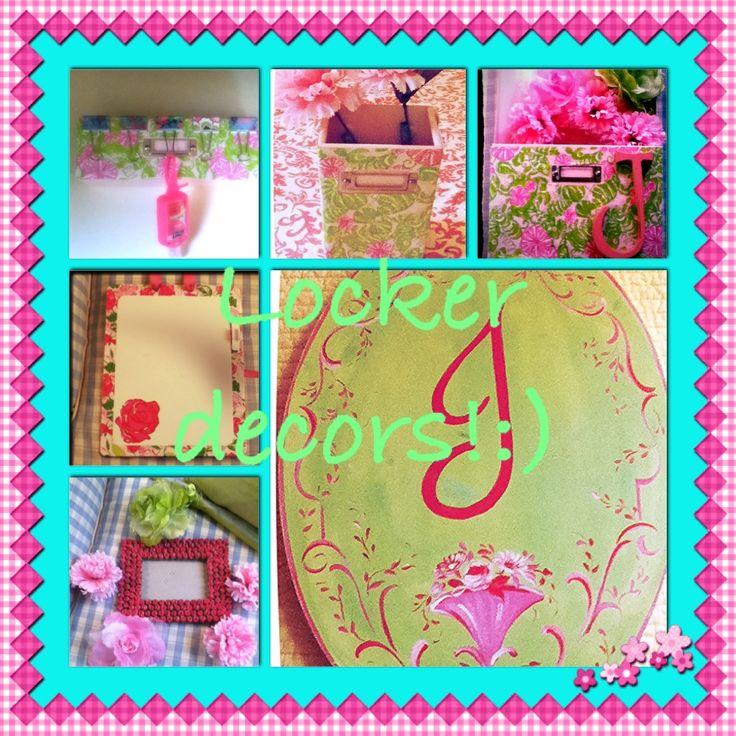 Locker Wallpaper Diy: Top 25 Ideas About Locker Decorations On Pinterest