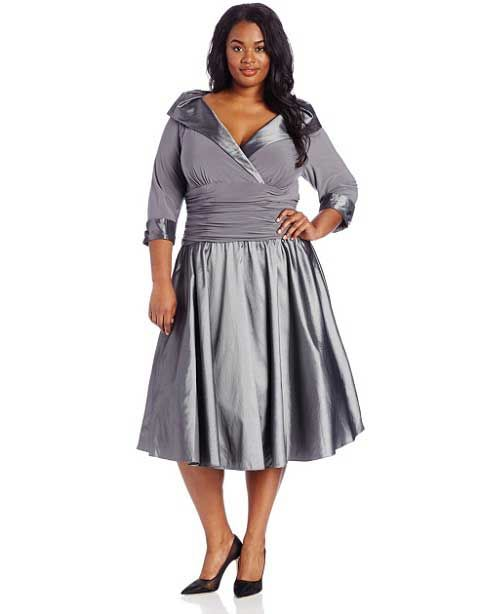 Christmas+Silver+dress | Silver plus size holiday party Christmas dresses for juniors and ...