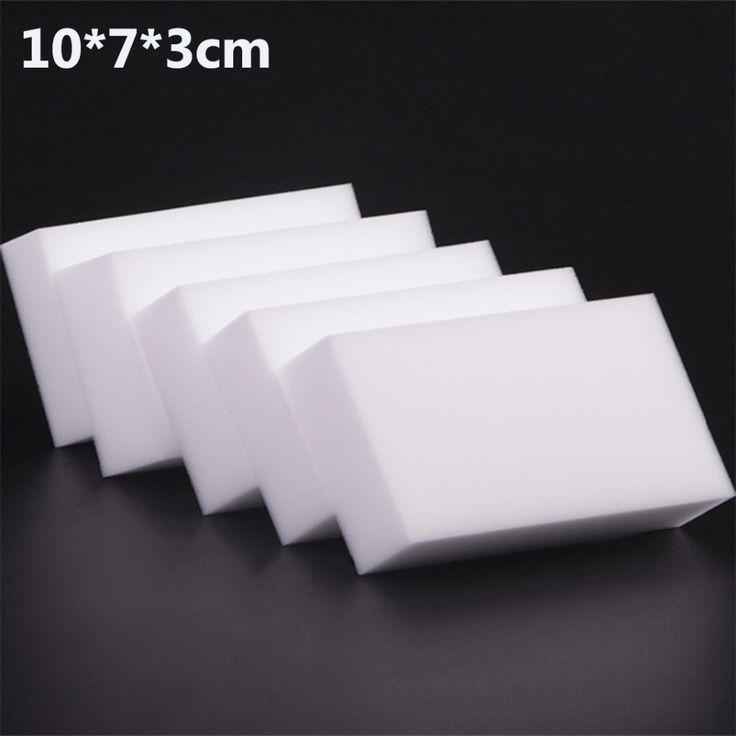 10x7x3 cm 50 teile/los hohe qualität Magisches Schwamm-radiergummi-melamin-reinigungs für Küche Büro Bad Reinigung