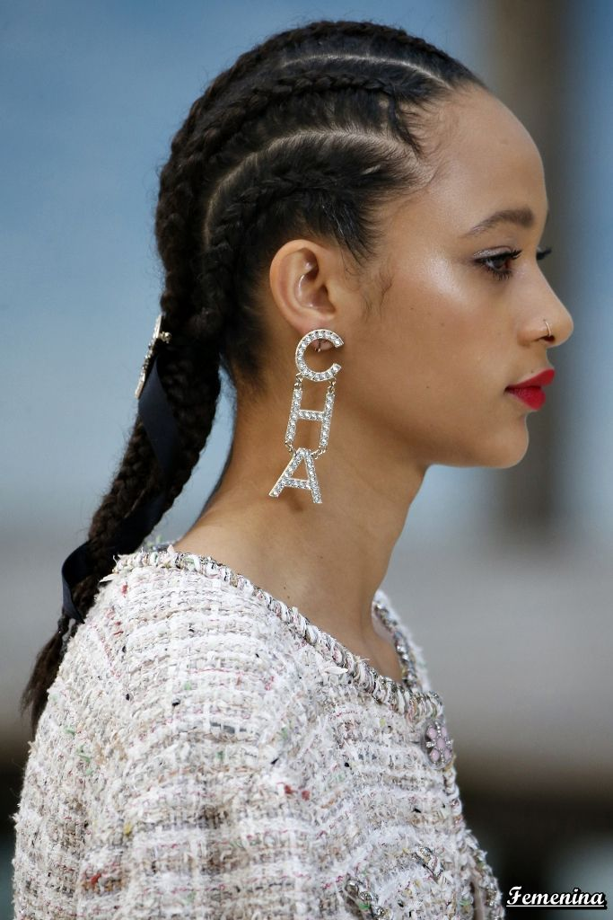 Chanel Spring Summer 2019 Rtw Details Pink In 2019