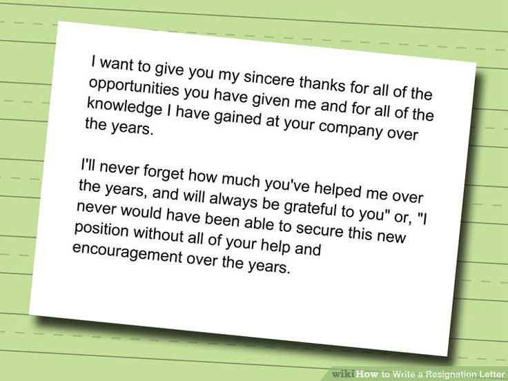 8 best resignation letter images on Pinterest Resignation letter - Simple Resignation Letter